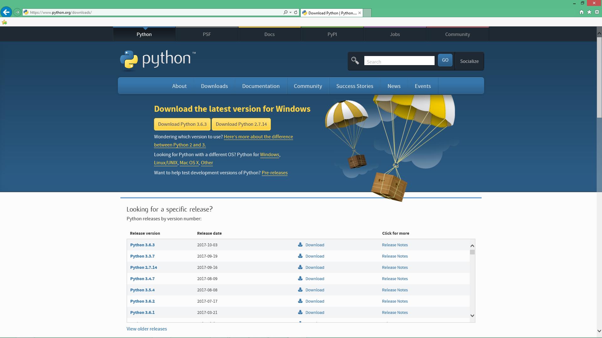 Programming 101 – installing Python