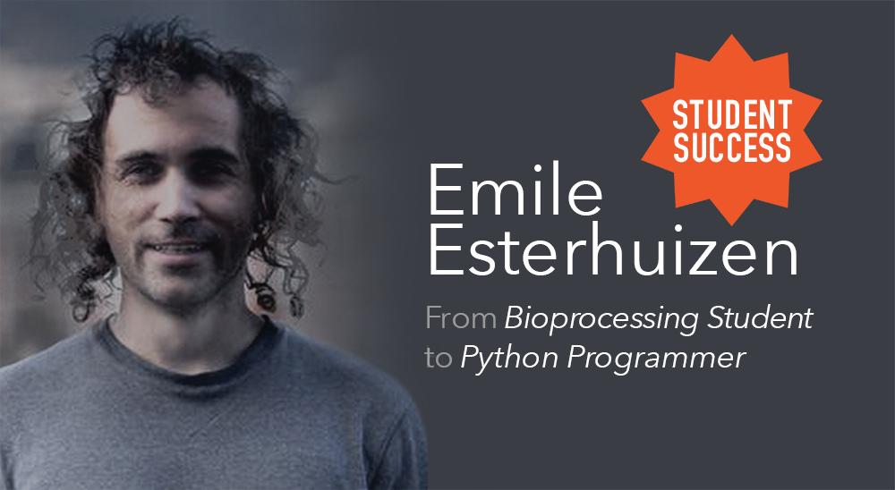 Emile Esterhuizen – From Bioprocessing Student to Python Programmer