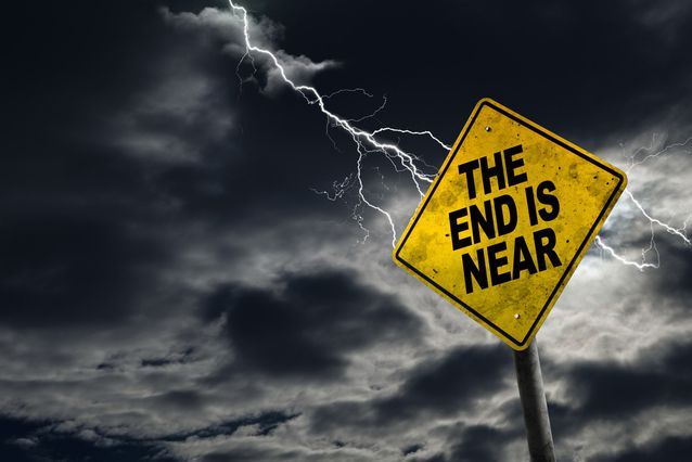 The End is Near Sign: Learn Coding
