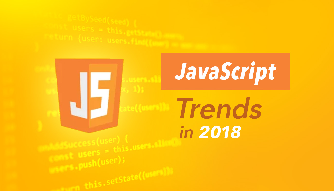 JavaScript Trends in 2018
