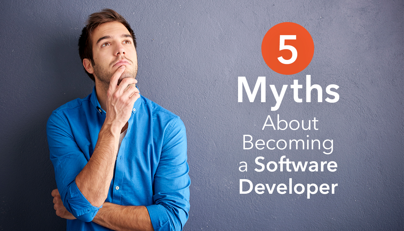5 Myths About Becoming a Software Developer