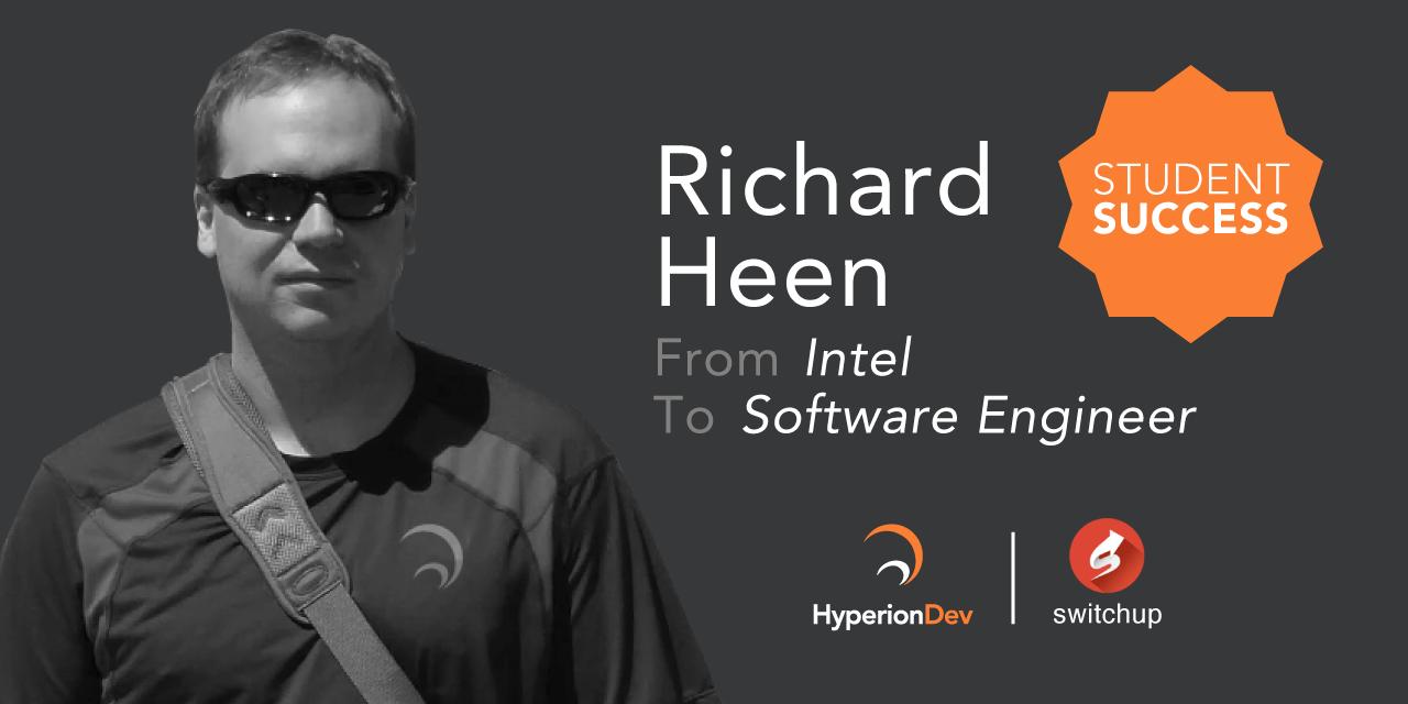 SwitchUp Interviews Richard Heen, HyperionDev Alum