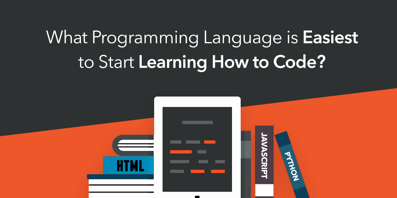 What Programming Language Is Easiest To Start Learning How To Code?