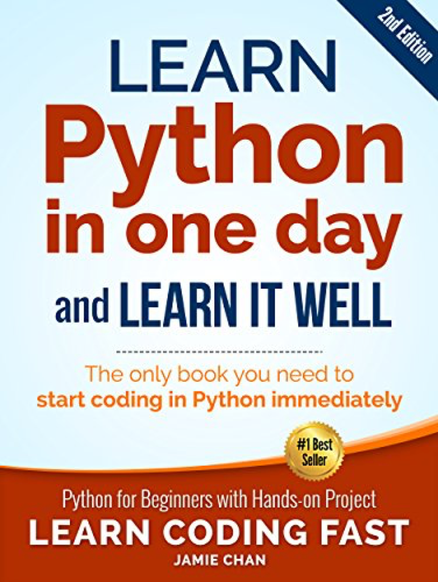 top five Python programming books