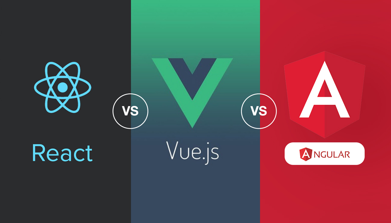 react vs vue vs angular