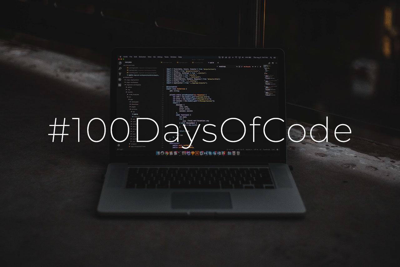 #100daysofcode