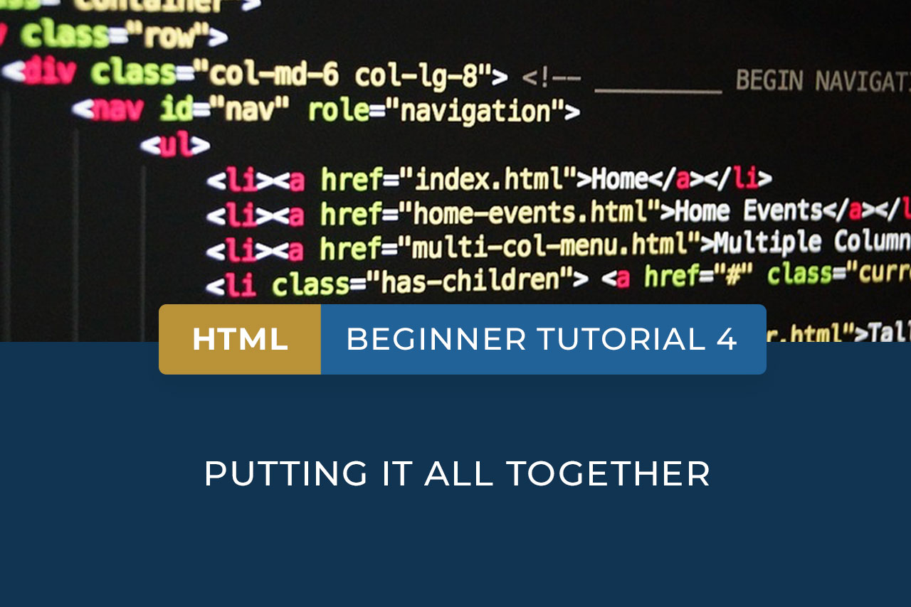 HTML beginner tutorial